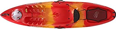 """90454 Emotion Temptation Sit-On-Top kayak, Red Yellow, 10'3"""" from Lifetime OUTDOORS"""
