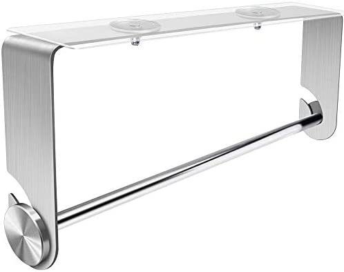 Orimade Adhesive Paper Towel Holder Under Cabinet Wall Mount Stainless Steel for Kitchen Bathroom product image