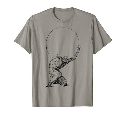 Atlas Greek mythology Greece Greek Gods and Heroes T-Shirt