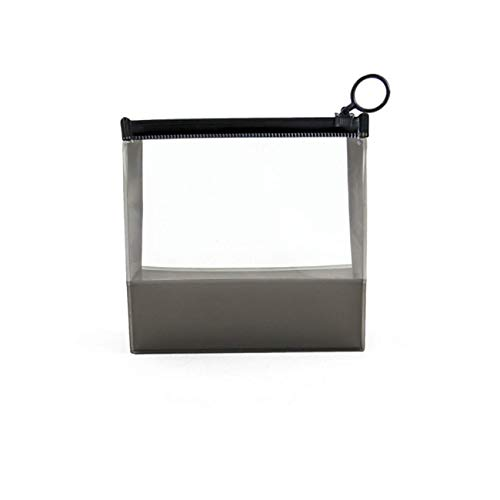 Waterproof Zipper ScrubSac à cosmétiques EVA transparent