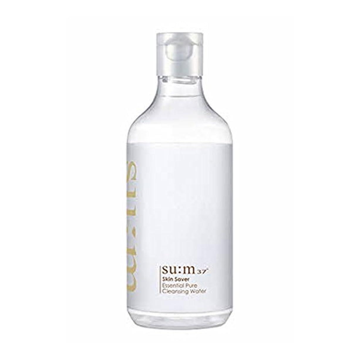 タービン抱擁静かな[スム37°] Sum37° スキンセイバー エッセンシャルピュアクレンジングウォーター ?Skin saver Essential Pure Cleansing Water (海外直送品) [並行輸入品]