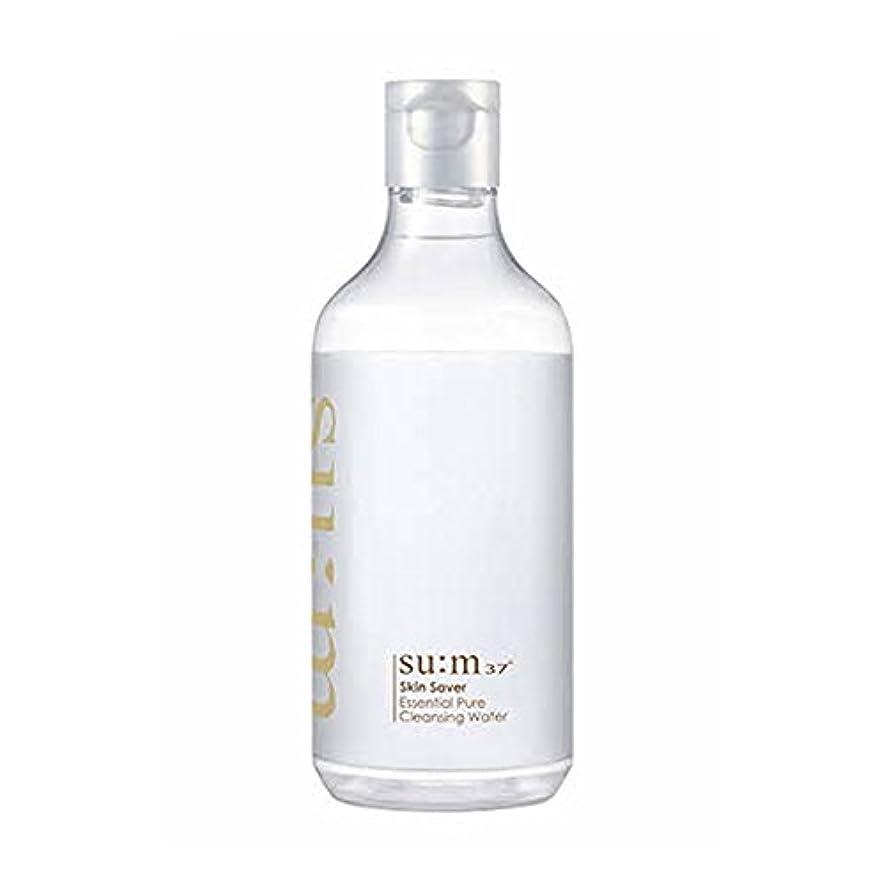 打ち上げる紳士気取りの、きざな豊かな[スム37°] Sum37° スキンセイバー エッセンシャルピュアクレンジングウォーター ?Skin saver Essential Pure Cleansing Water (海外直送品) [並行輸入品]