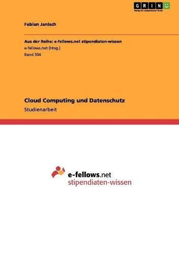 Cloud Computing und Datenschutz
