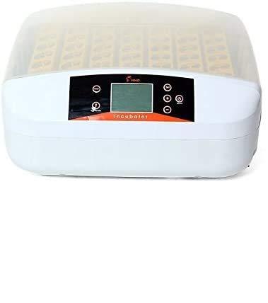 RANZIX Inkubator Vollautomatische 56 Eier Intelligentes digitales Brutmaschine Brutkasten Brutapparat Gerät Inkubationszeit ist Eclosion-Küken Brutmaschine 56 Eier (ohne Licht)