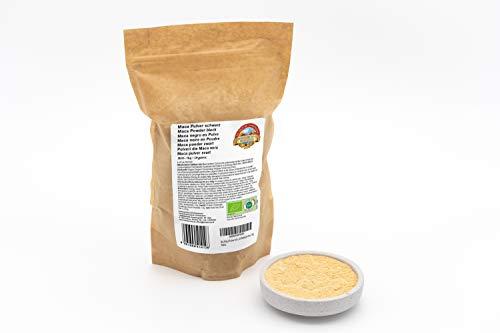 Schwarzes Bio Maca Pulver – 1kg – Reines Knollenpulver ohne künstliche Zusätze – Aus dem peruanischen Hochland – Rohkost – Vegan