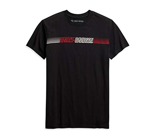 HARLEY-DAVIDSON T-Shirt Chest Stripe, L