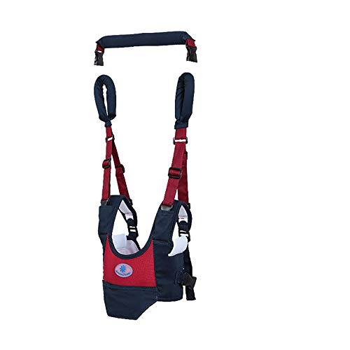 Yierya Baby Harness, Adjustable Baby Walker, Toddler Walking Assistant, Handheld Stand Up and Walking Learning Leashes Safety Helper for 8-24 Months Baby, Pulling and Lifting Use
