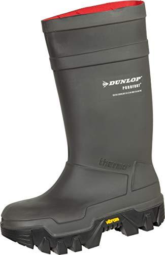 Neu Dunlop Purofort Explorer Unisex PVC Gummistiefel / Sicherheitsgummistiefel, S5 - 39/40 - C922033 - 39 EU / EU 39 UK