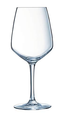 Arcoroc CT961 Juliette - Copa de vino (500 ml, 217 mm de altura, 92 mm de diámetro, 24 unidades)