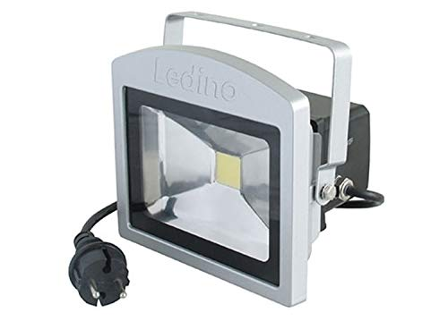 Ledino Projecteur LED antipanique Benrath 10W 6500K argentin