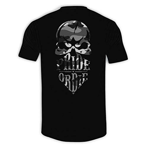 Pride or Die T-Shirt Reckless Urban Camo - Streetwear Crime Old School Style Herren Shirt (S)