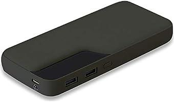 Dexim M10 10000 mAh 2 USB Portlu Powerbank, Siyah