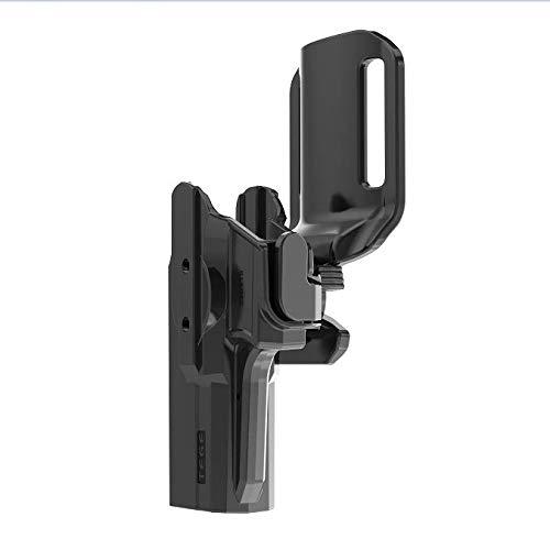 efluky Glock 17 22 32 Fondina da Cintura Pistola Glock Molle Gun Fit Glock 17 19 19X 22 23 31 32 (Gen 1-5), Adatto per Mano Destra e Sinistra