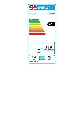 Samsung Q60T QLED Quantum HDR Smart TV mit Tizen OS (2020, 139,7 cm (55 Zoll)