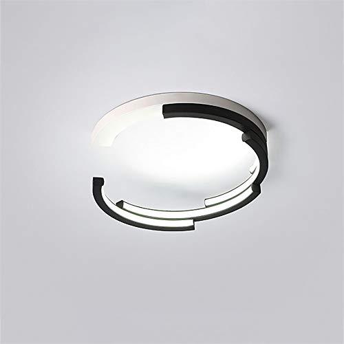 ZXJUAN plafondlamp Moderne ideeën LED rond gevormd ijzer wit acryl + 50 cm diameter slaapkamer van restaurant woonkamer kroonluchter/lamp/plafond