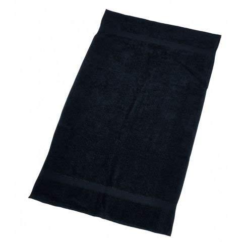Efalock handdoek zwart 50x75 cm