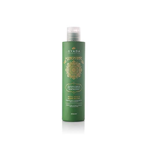 GYADA COSMETICS Hyalurvedic Shampoo Fortificante - Methi, Maca, Hennè Neutro - 200 ml