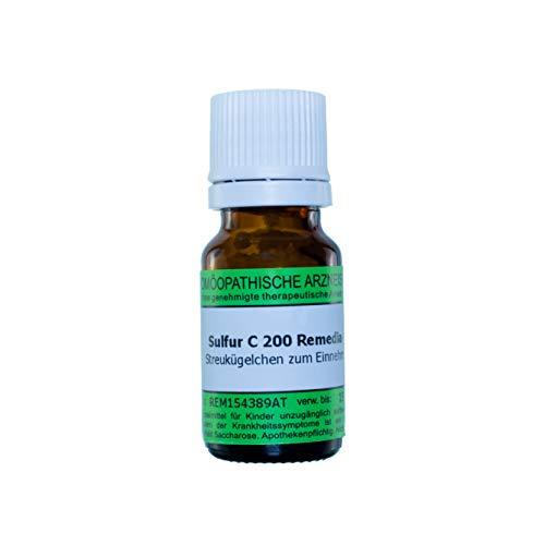 Sulfur C200, 10g Globuli