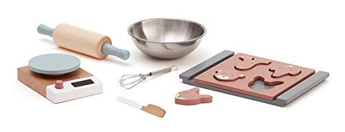 Kids Concept alle anderen Küchenspielzeug ConceptBakingset, Mehrfarbig (1)