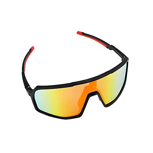 Kinnart Gafas de sol deportivas ultraligeras Running Golf Pesca Senderismo Gafas de sol prácticas rojo