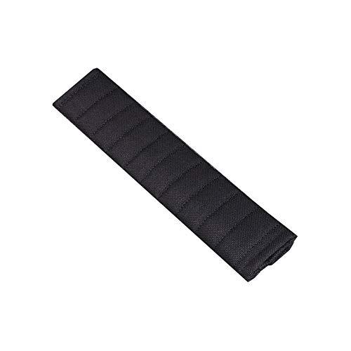 Protector Cinturon Coche NiñOs Extensor Cinturon Seguridad Coche Correa de asiento de coche Anti Escape Asiento Clip de cinturón Black,Large