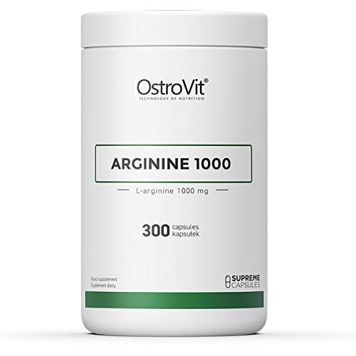 OstroVit Supreme Capsules Arginine 1000 300 caps - L-arginine - No Booster - Amino Acid