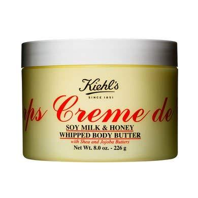Kieh'ls - Creme de Corps Soy Milk & Honey Whipped Body Butter 12oz-340g