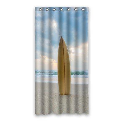dalliy Custom Surfbrett Duschvorhang Polyester 90cm x 183cm, Polyester, e, 36