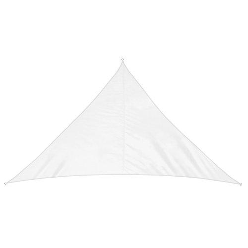 jarolift Toldo Vela Triangular (ángulo Recto) / Repelente al Agua / 600 x 420 x 420 cm/Blanco Crema