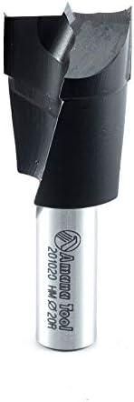 popular Amana Tool - 201020 Carbide Tipped Brad Pt. Boring outlet sale Bit R/H 20mm Dia x 57mm Long x popular 10mm S outlet online sale