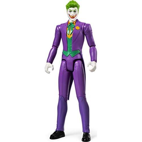 Batman - Joker, Personaggio da 30 cm Articolato, dai 3 Anni - 6056691