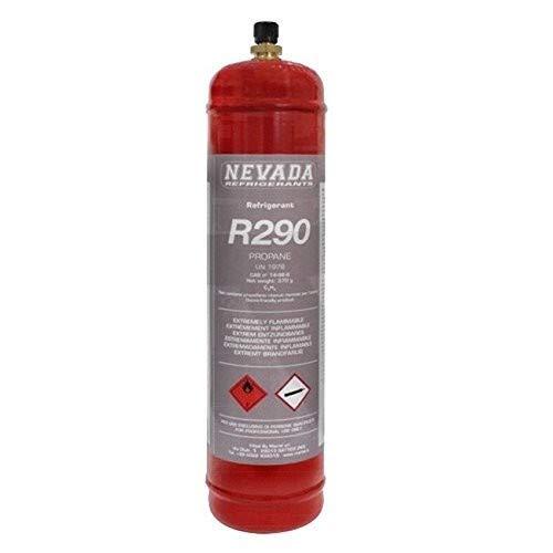 BOMBOLA GAS REFRIGERANTE R290 PROPANO - 370 GR