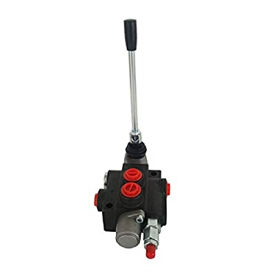 HayWHNKN 1/2/3/4 Spool Hydraulic Valve Hydraulic Directional Control Valve 13 GPM Double Acting Cylinder Spool (1 Spool) from HayWHNKN