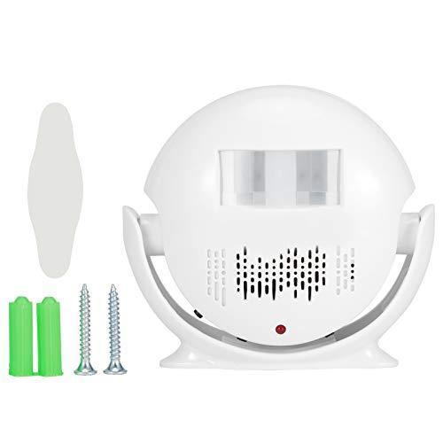 Timbre de bienvenida, timbre de bienvenida Alarma Sensor infrarrojo IR Aviso de voz Timbre de puerta Seguridad de entrada