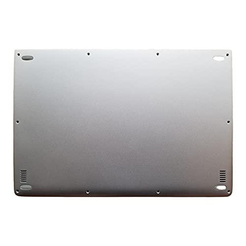 fqparts Cubierta Inferior de la Caja del Ordenador portátil D Shell para Lenovo Yoga 3 Pro-1370 Color Plata