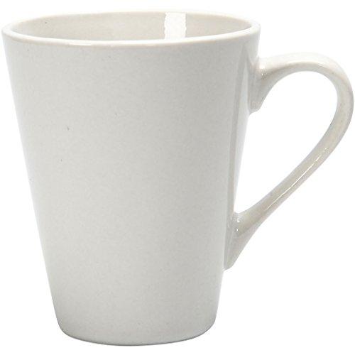 Creativ Company 555980 Blanco Universal Tasse/Becher (einzeln, weiß, Porzellan, universal, 100 mm)
