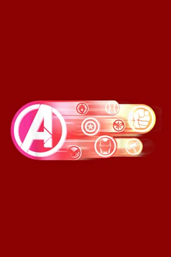 Final Planning Book | Avengers Endgame Logo and Super Hero Icons