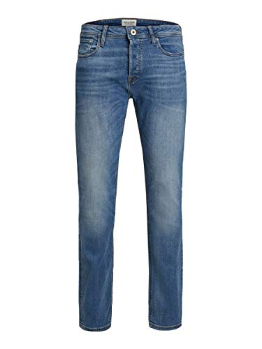 JACK & JONES Male Slim/Straight Fit Jeans Tim ORIGINAL AM 781 50SPS 3432Blue Denim