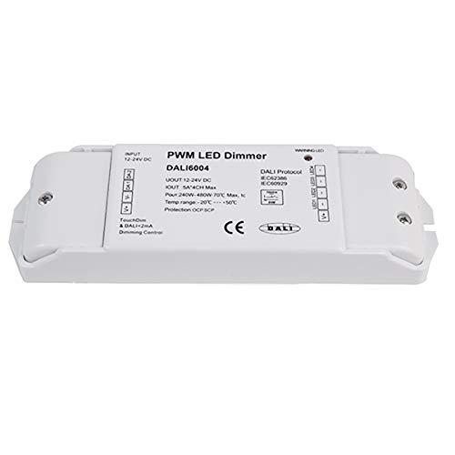 Controlador Dali PWM Dimmer CV 4CH 1224V 4 canales LED WWCW RGB RGBW IEC62386