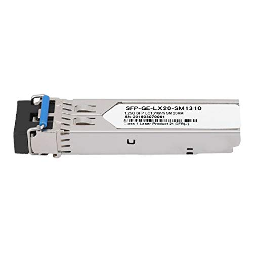 Socobeta 1,25 Gbit/s/s Stabiles Signal Schnelles Signal Optisches Modul mit geringem Stromverbrauch Hochleistungs-Zinklegierung für Rechenzentren für Cloud Computing
