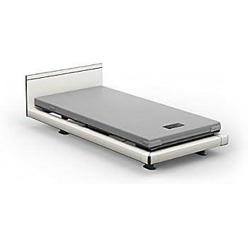 パラマウントベッド INTIME1000 電動ベッド+マットレス+設置付き 1+1モーター(背+足) ハリウッドスタイル スクエア カルムライトマットレス 日本製 (ホワイト)