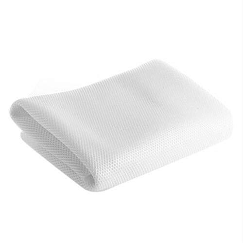 Almabner Paño de malla para altavoces, tela de rejilla de altavoz, paño de malla de repuesto para altavoces de radio, tela de malla protectora a prueba de polvo para altavoz de audio