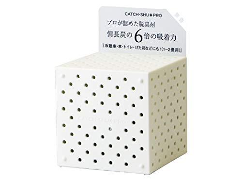 キャッチシューPRO 強力脱臭剤 キャッチシューPRO 本体 ホワイト 無香料 天然素材 150g