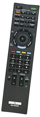 ALLIMITY RM-ED035 Fernbedienung Ersetzen fit für Sony LED LCD Bravia TV KDL-46EX505 KDL-46EX501 KDL-40EX700 KDL-40EX505 KDL-40EX710 KDL-46EX705 KDL-40EX503 KDL-40EX500 KDL-40HX705 KDL-46EX503