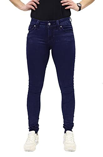 Blue Monkey Damen Luna 3811 Blue Denim Skinny Jeans (W32/L32)
