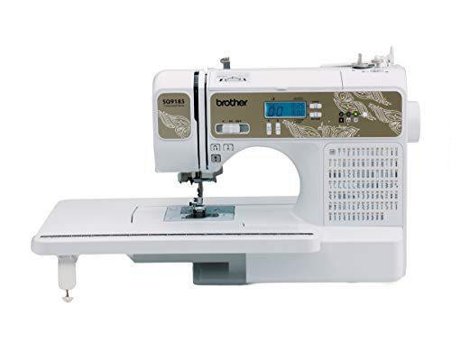 SYS Score: 9.7 Brother SQ9185 Computerized Sewing and Quilting Machine with Built-in Sewing Font and Wide Table