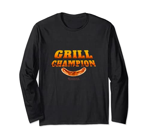 Grill Design Grill Champion lustiges Grill Sprüche Langarmshirt