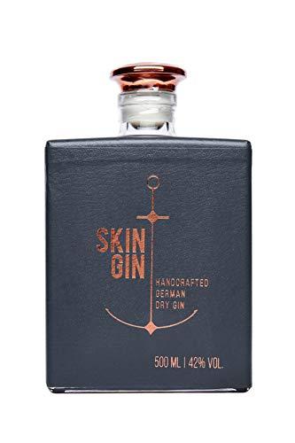 Skin Gin - Flasche Anthrazit (1 x 0.5 l)