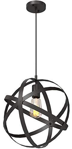 Home Decorators Collection Mini Pendant Light Black finish metal shade