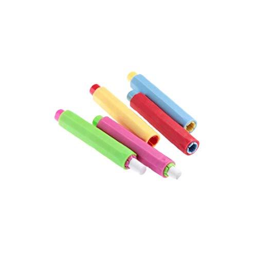 NaisiCore Kunststoff Kreidehalter-Kasten-Abdeckung für Schulamt Lehrer 5PCS täglichen Bedarfs